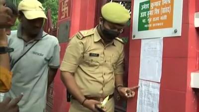 अजय मिश्रा की बर्खास्तगी की मांग को लेकर पुतले फूंकने पहुंचे सोशलिस्ट किसान सभा के सदस्य हिरासत में