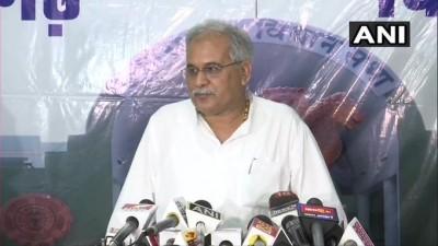 भाजपा में नेताओं का अकाल है और इसलिए कांग्रेस से जा रहे : भूपेश बघेल,