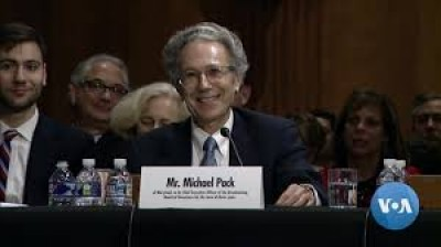 ट्रंप के कार्यकाल में यूएस एजेंसी फॉर ग्लोबल मीडिया के प्रमुख नियुक्त किए गए माइकल पैक का इस्तीफा