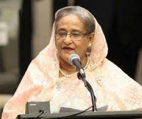 बांग्लादेश की प्रधानमंत्री शेख हसीना ने असम के नए मुख्यमंत्री सरमा को बधाई दी