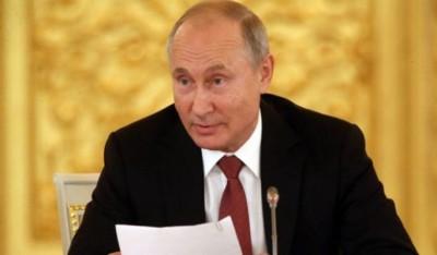पुतिन ने रूस को अस्थिर करने के विदेशी ताकतों के प्रयासों को लेकर एफएसबी को किया आगाह