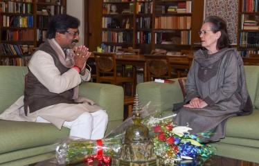हेमंत सोरेन मिले सोनिया, राहुल से, किसान आंदोलन और नए मंत्री बनाने समेत कई मुद्दों पर चर्चा हुई