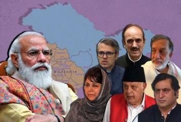 सर्वदलीय बैठक से पहले जम्मू-कश्मीर के कांग्रेस नेताओं ने आजाद के साथ चर्चा की