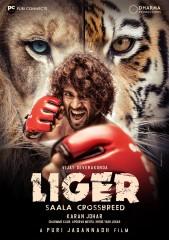 करण जौहर ने विजय देवरकोंडा अभिनीत 'लाइगर' का पहला पोस्टर किया जारी