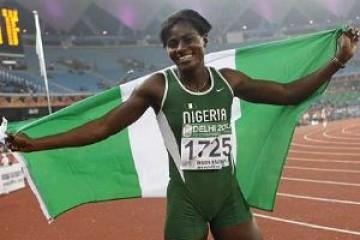 प्रतिबंधित पदार्थ लेने वाली नाइजीरियाई फर्राटा धावक अस्थायी तौर पर निलंबित