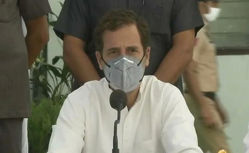 विवादों और दंगों को बीज की तरह बोने का परिणाम भयानक होगा: राहुल